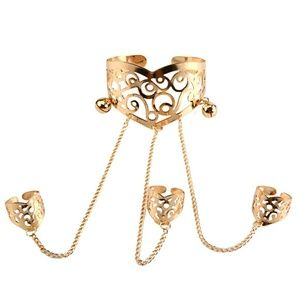 Jewelry - Percussive Jewelry Filgari Cuff  Bracelet Gold